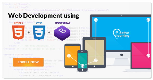 Web Development with HTML5, CSS3 and Bootstrap