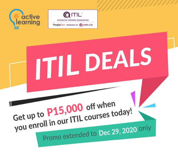 ITIL Deals Promo